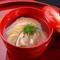季節の味を愉しめる、日本料理の華にふさわしい『椀物』