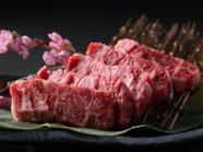 肉厚で食べごたえ十分。旨味たっぷりやわらかくてジューシーな『特選ハラミ』