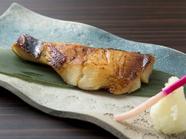 ホクホクとした身の食感で幸せな気分になれる『銀たら西京焼き』