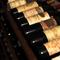 フランス産を中心に、種類豊富なワインがズラリと約150本