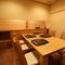 接待や結納など、改まった会食の席としてもふさわしい和の個室