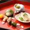 魚も野菜も地元産が中心。旬の食材が、彩り豊かな料理へ変身