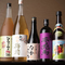 地元九州産の焼酎やこだわりの日本酒を取り揃え