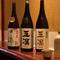 料理に合わせ、地元・石川県の地酒が豊富