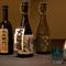 圧巻の『黒龍』ラインナップ。料理のお供はぜひ日本酒を