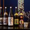 奥能登5蔵の地酒が揃い、すべて普通酒を提供