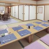 和食メインの懐石3コースは、法事などの人の集まりに最適
