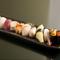 全て違うネタのにぎり寿司を揃えた『特上にぎり』