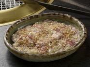 味の秘密は自家製たれにあり。あっさりとした塩味にねぎの風味が効いた自慢の一品『ねぎ塩牛タン』