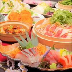 2H飲放×料理11品<至福コース> 7000円⇒6000円