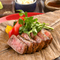 おすすめの焼き加減はミディアムレア『熟成赤身肉ステーキ100g』