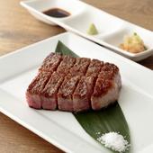 絶品の最高級A5ランク国産牛サーロインステーキ
