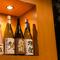料理に合わせて、豊富に取り揃えた日本酒