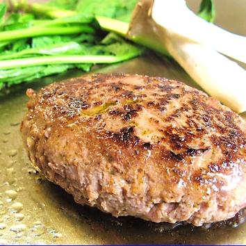 黒毛和牛ハンバーグステーキのコース