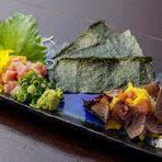 北海道直送の生うにを牛肉で巻きました。極上の旨味を体感してみてください!