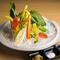 厳選野菜のスティックサラダ~3種の薬味添え~