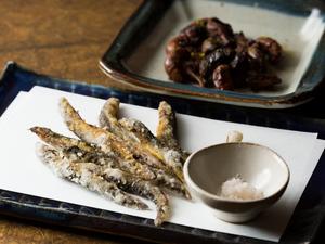 鰻の肝焼き/どぜう 唐揚げ