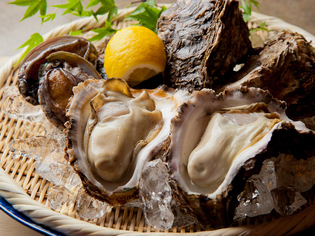 食通をうならせる鮮度の良さが自慢の魚介類
