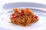 オマールエビと天使のエビを使用して甲殻類の旨みを凝縮させたソースが美味『トンナレッリ』