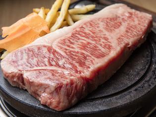 精肉店直営店だからこそ提供できる『和牛のサーロインステーキ』