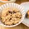 減農薬の発酵玄米や沖縄の野菜、豚肉など、こだわりの食材を使用