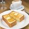 職人技がいちばん反映される『エシレバターと蜂蜜のトースト』