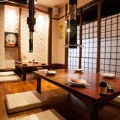 プライベートな時間を満喫できる個室