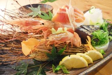 鮮魚のお造り盛り合わせ
