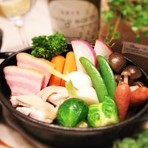 十勝平野が育む一流銘柄の田舎鶏『中札内鶏』とシェフ厳選 季節のポトフ