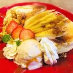 5種のフルーツパンケーキセット(選べるお好みドリンク付!)