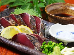 料理人自らが厳選する食材の数々