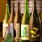 種類や銘柄が豊富。日本酒の他にも、さまざまなお酒が味わえる