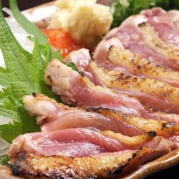 鶏也満足飲み放題付きコース5000円(税込)