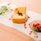 ウニとチーズに和風だしを加えた、「和」&「洋」のおいしいコラボ『ウニのふわふわテリーヌ』
