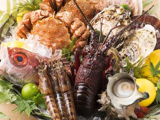 築地魚市場から直送の魚介を使用し、質と鮮度をとことん追求
