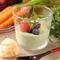 旬の野菜をふんだんに使い、自然の甘さを活かした季節のスイーツ