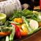 野菜の美味しさをダイレクトに感じられる『世羅野菜と彩り野菜 バーニャカウダー』