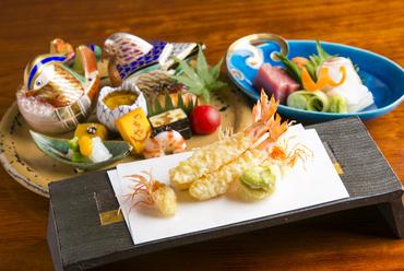 日本料理と天婦羅のいいとこどり『コースのメイン料理』