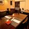 品のある雰囲気で、デートにも最適なテーブル席