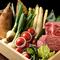 日本全国から選りすぐりの食材を吟味し、素材の味を活かして調理