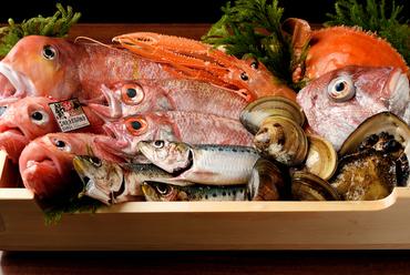 全国から選りすぐりの鮮魚を好みの調理法でいただける『魚料理』