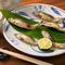 広島にある太田川の天然の稚鮎をシンプルに塩でいただきます。季節を味わう『鮎の塩焼き』