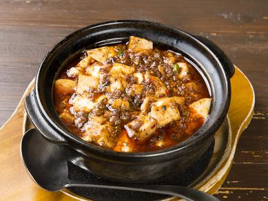 人気No1。四川山椒が香る本格的『麻婆豆腐』