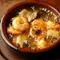 ニンニクの香ばしさで食材の味が引き立つ『小海老のアヒージョ』