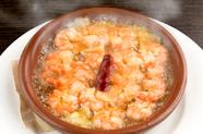 海老のプリプリ食感がたまらない『小海老のアヒージョ』