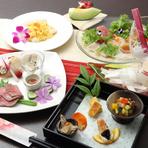 選べるメニューで自分好みにアレンジ、平日限定のランチコース『旬彩~SYUNSAI』