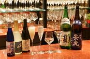 ワイングラスで味わえる日本酒