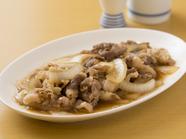 人気のB級グルメ、お酒との相性抜群『青森県産牛バラ』定食もあります。