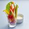 新鮮な野菜をさっぱりいただく、目にも美しい一品『彩り野菜のスティックサラダ』
