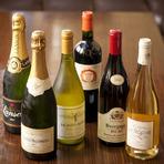 記念日やお誕生日といった特別な機会にご利用頂いております。是非コースをご予約の上お越しください。 お食事にぴったりのお酒もご用意しております。